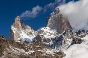Aguja Poincenot e Fitz Roy